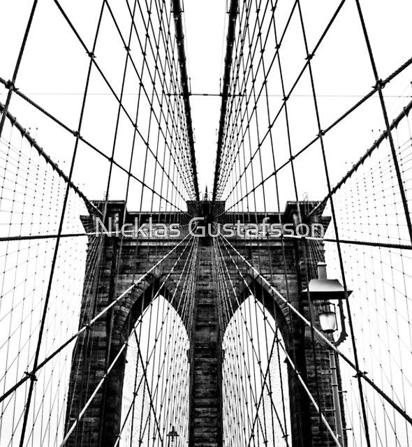 Brooklyn Bridge Web by Nicklas Gustafsson
