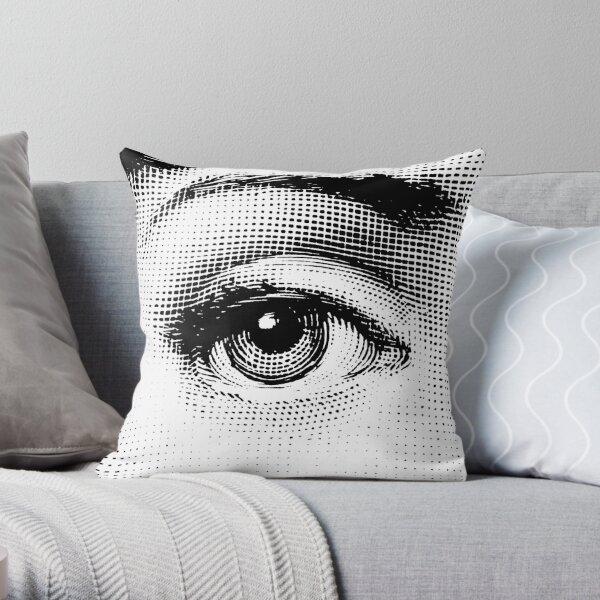 Eye of Lina Cavalieri 01 Throw Pillow