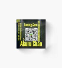 PrisonArtWare..com proudly presents the work of Akuru Chan  Acrylic Block