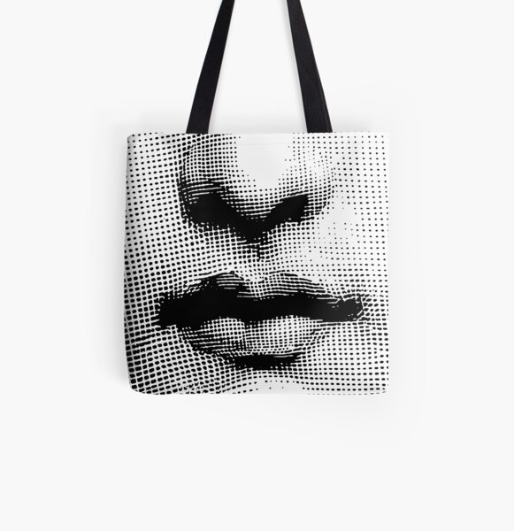 Lina Cavalieri - nose and mouth All Over Print Tote Bag