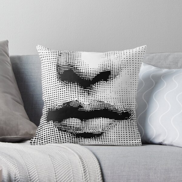 Lina Cavalieri - nose and mouth Throw Pillow