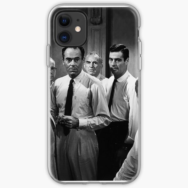12 Angry Men  iPhone Soft Case