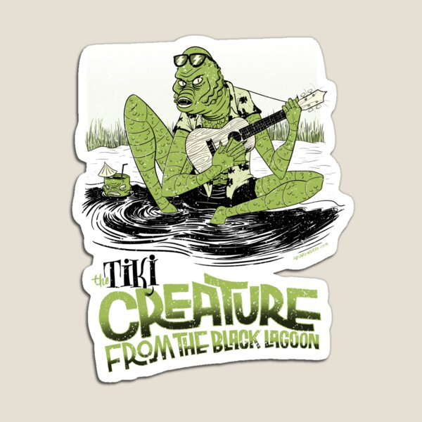 the tiki creature from the black lagoon Imán
