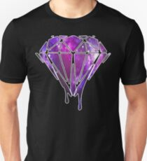 Melting Galaxy Diamond  T-Shirt