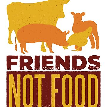Friends Not Food by soondoock