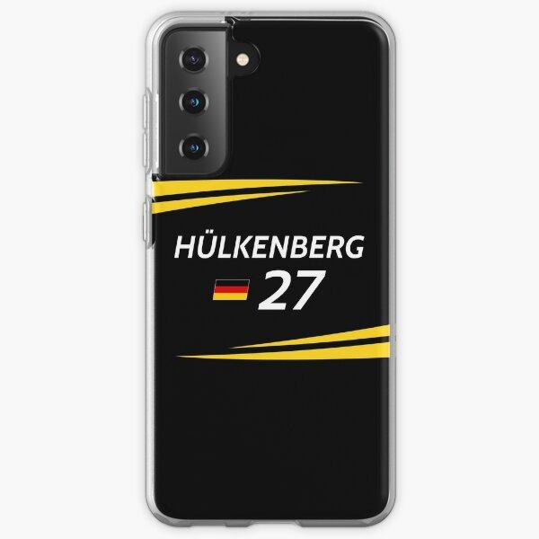 F1 2017 - # 27 Hulkenberg [version noire] Coque souple Samsung Galaxy