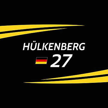 F1 2017 - #27 Hulkenberg [black version] by sednoid