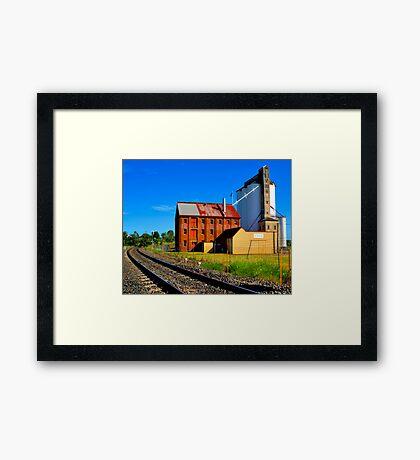 Gunnedah Maize Mill - NSW - Australia Framed Print