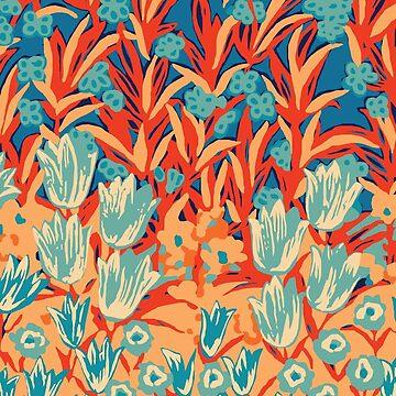 Retro Tulips by zeljkica