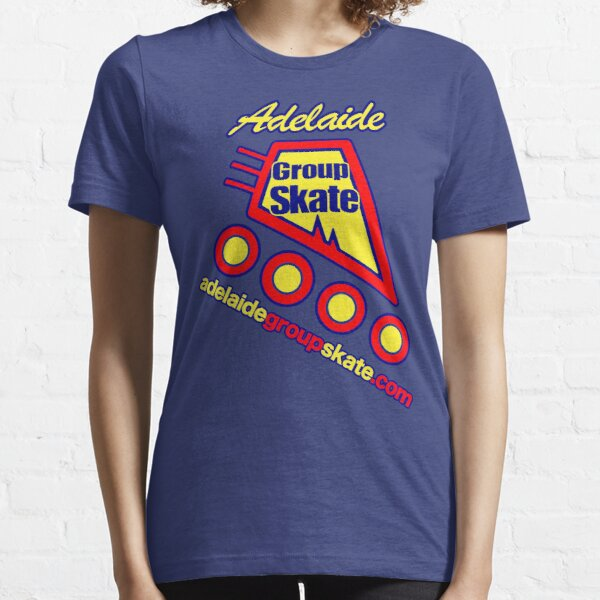 Adelaide Group Skate: Blue Simple Design Essential T-Shirt