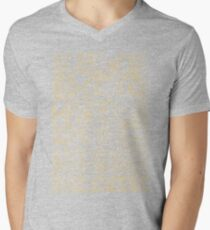 Paparazzi Beige Mens V-Neck T-Shirt