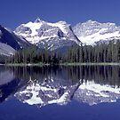Marvel Lake in Banff National Park by Istvan Hernadi