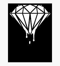 Melting Diamond 2 Photographic Print