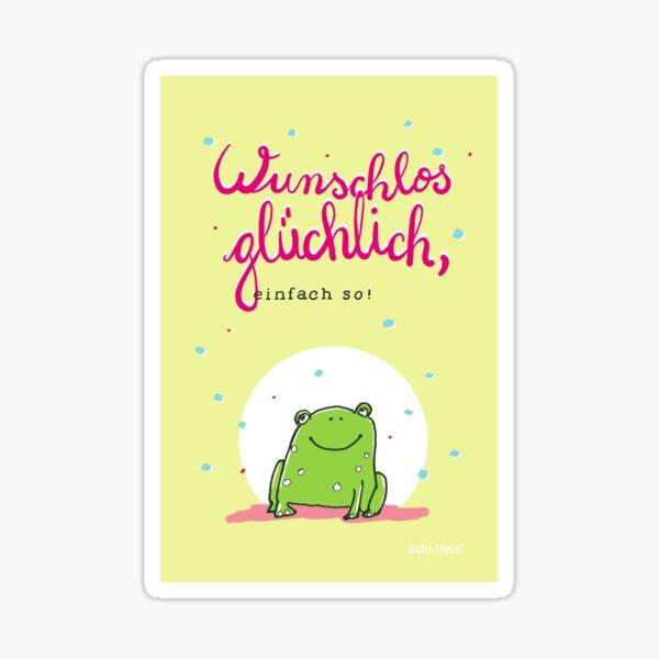 Frosch Glück Sticker