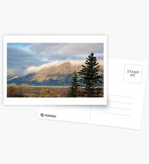Kluane Lake dawn in the Yukon Postcards