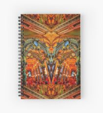 TIME - #wakeuppositivetoday Spiral Notebook