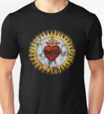 Heiliges Herz von Jesus Christ Vintage Christian T-Shirt Slim Fit T-Shirt