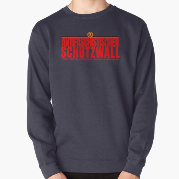 Commemoration Print of the Berlin Wall Pullover Sweatshirt
