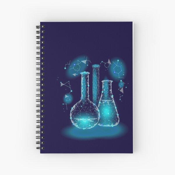 Magical science student geek equipment Spiral Notebook
