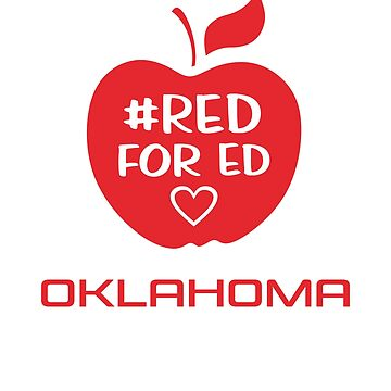 Red for Ed Oklahoma by ShamanShore
