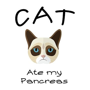 Funny Cat Type 1 Diabetes Funny T1D Diabetic by macshoptee