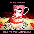 Red Velvet Cupcakes  by ©The Creative  Minds