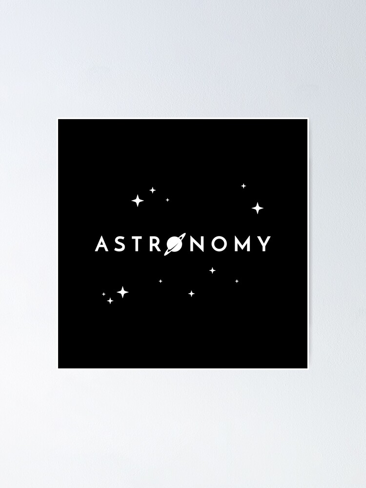 Alternate view of Astronomy Poster
