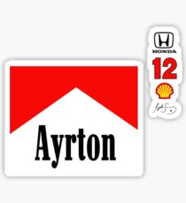 Ayrton 88 Sticker