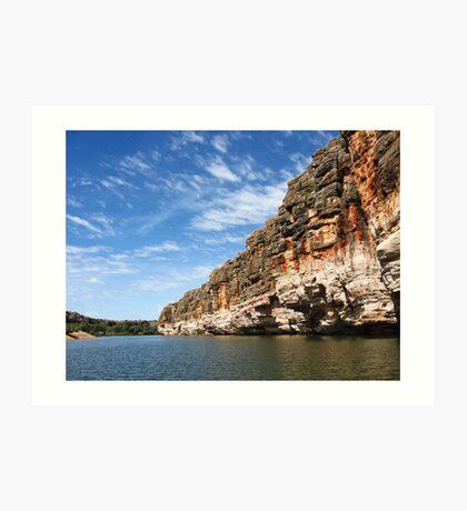 Geike Gorge, Western Australia Art Print
