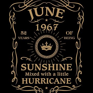 June 1967 Sunshine Mixed With A Little Hurricane by lavatarnt