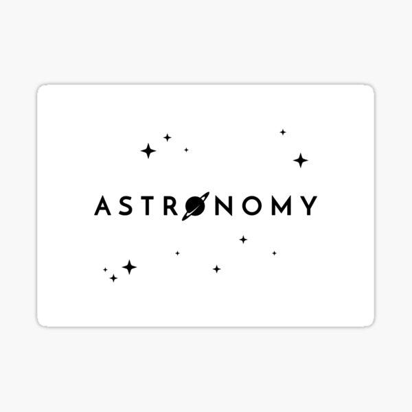 Astronomy (Inverted) Sticker