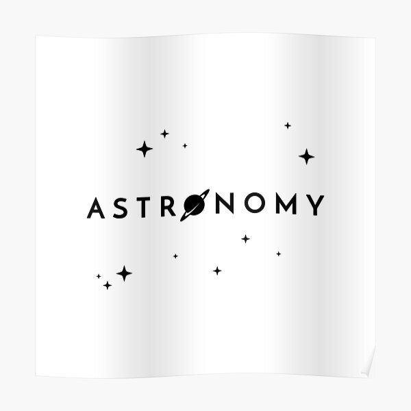 Astronomy (Inverted) Poster