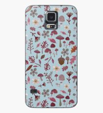 woodland winter pattern Case/Skin for Samsung Galaxy