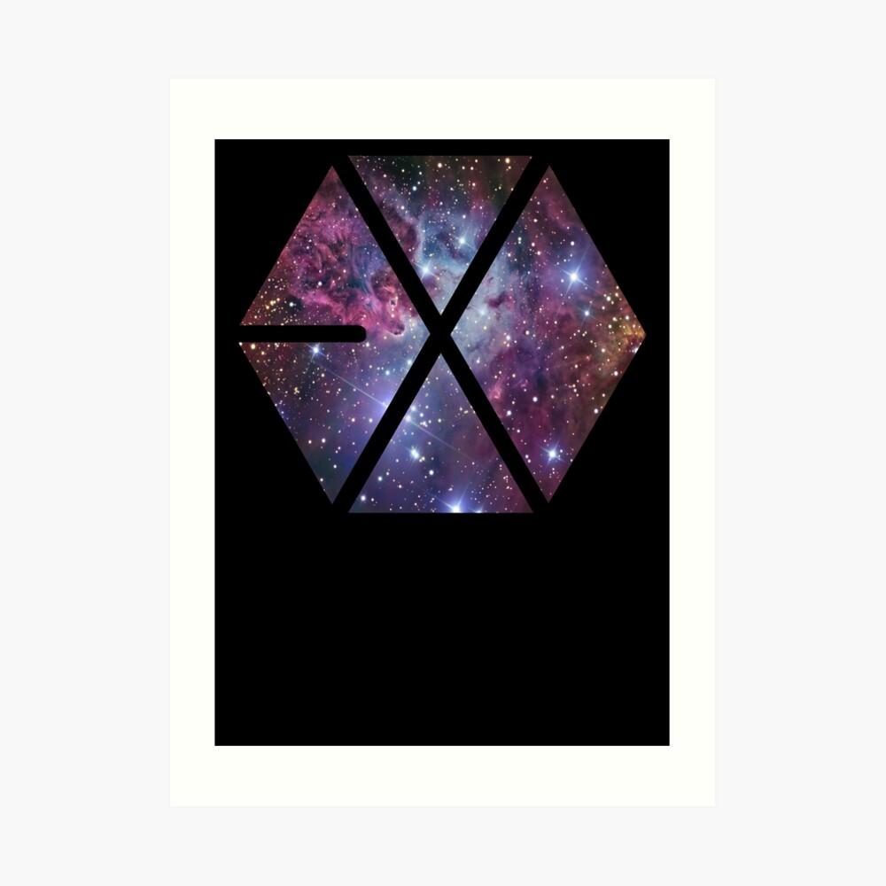 Exo-nebula Kunstdruck