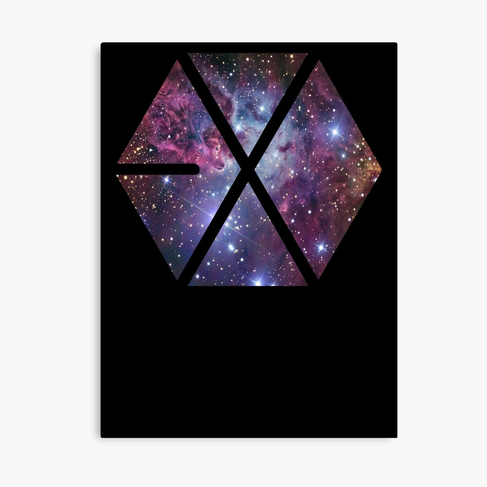 Exo-nebula Leinwanddruck