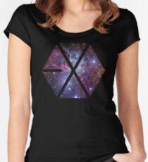 Exo-nebula Women's Fitted Scoop T-Shirt