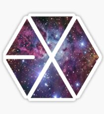 Exo-nebula Sticker