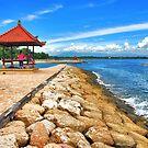 Pagoda on the pier by Adri  Padmos