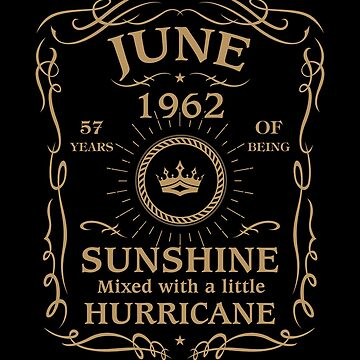 June 1962 Sunshine Mixed With A Little Hurricane by lavatarnt