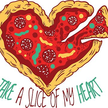 Pizza heart by MacOne