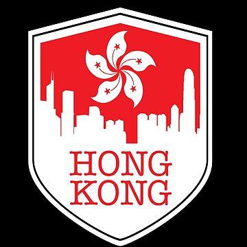 Hong Kong Southeast Asia by GeschenkIdee