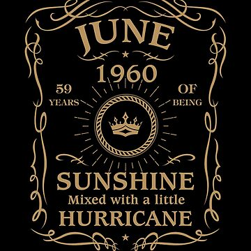 June 1960 Sunshine Mixed With A Little Hurricane by lavatarnt