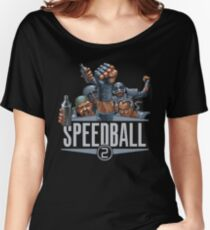 Gaming [Amiga] - Speedball 2: Brutal Deluxe (Team) Women's Relaxed Fit T-Shirt