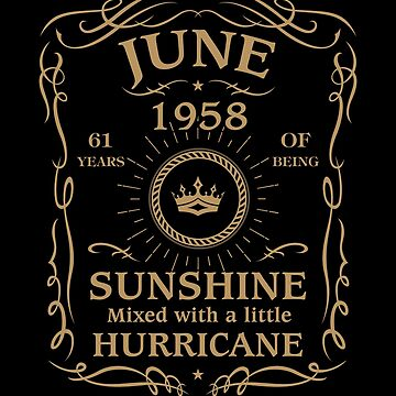 June 1958 Sunshine Mixed With A Little Hurricane by lavatarnt
