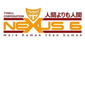 Tyrell Corporation Nexus 6 Replicant by McPod