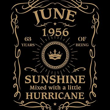 June 1956 Sunshine Mixed With A Little Hurricane by lavatarnt