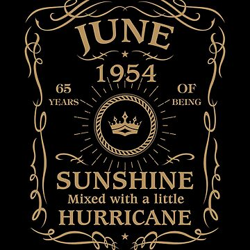June 1954 Sunshine Mixed With A Little Hurricane by lavatarnt