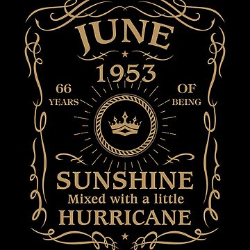 June 1953 Sunshine Mixed With A Little Hurricane by lavatarnt