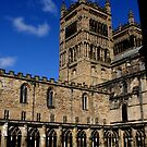 Durham Cathedral cloisters by BronReid