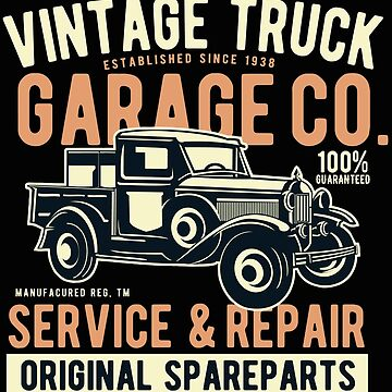 Vintage Truck T-shirt by webeller